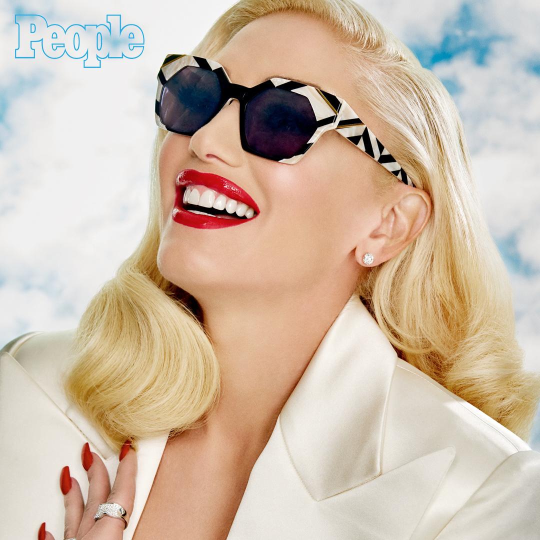 3ccfaf5d612 Gwen Stefani s eyewear collection featured on People.com