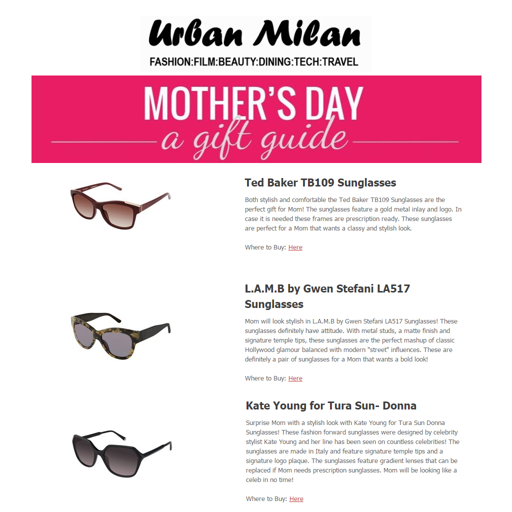 f3d07dcd20b URBAN MILAN MOTHER S DAY GIFT GUIDE FEATURING TED BAKER