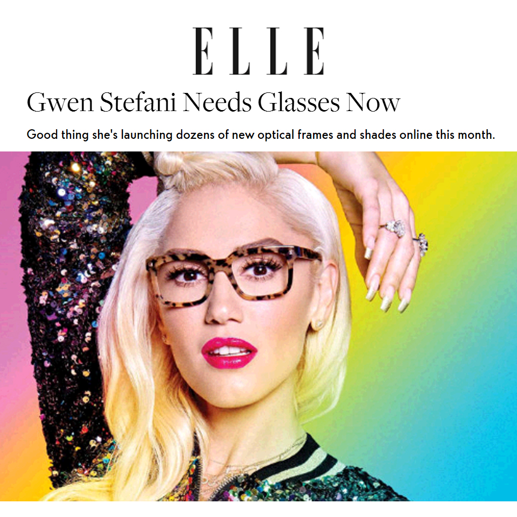 df68e918835 GRAMMY AWARD WINNING GWEN STEFANI BLAKE SHELTON IN HER LAMB EYEWEAR WOMENS  OPTICAL FRAMES GLASSES SUNGLASSES