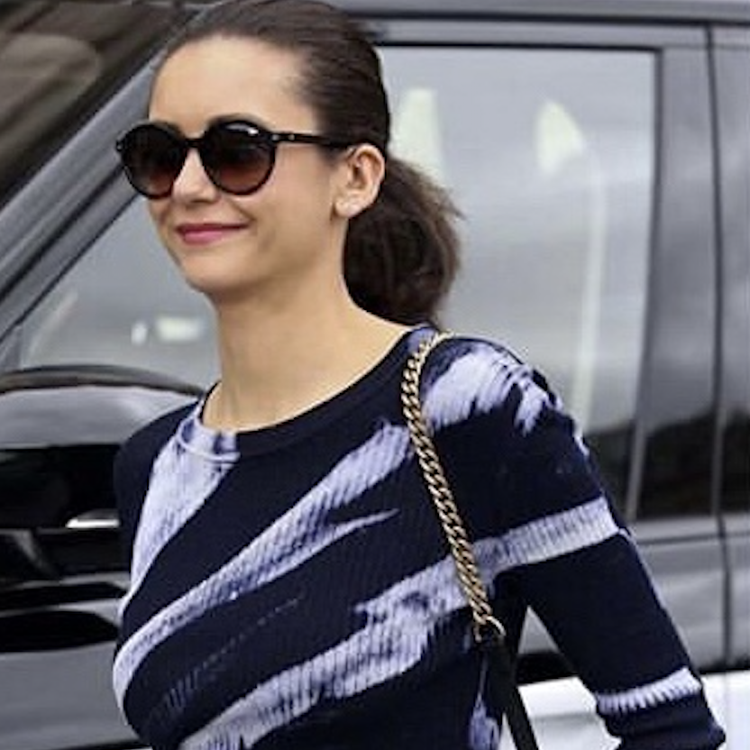 b14220ced983 Nina Dobrev wearing Kate Young for Tura K547 BLK