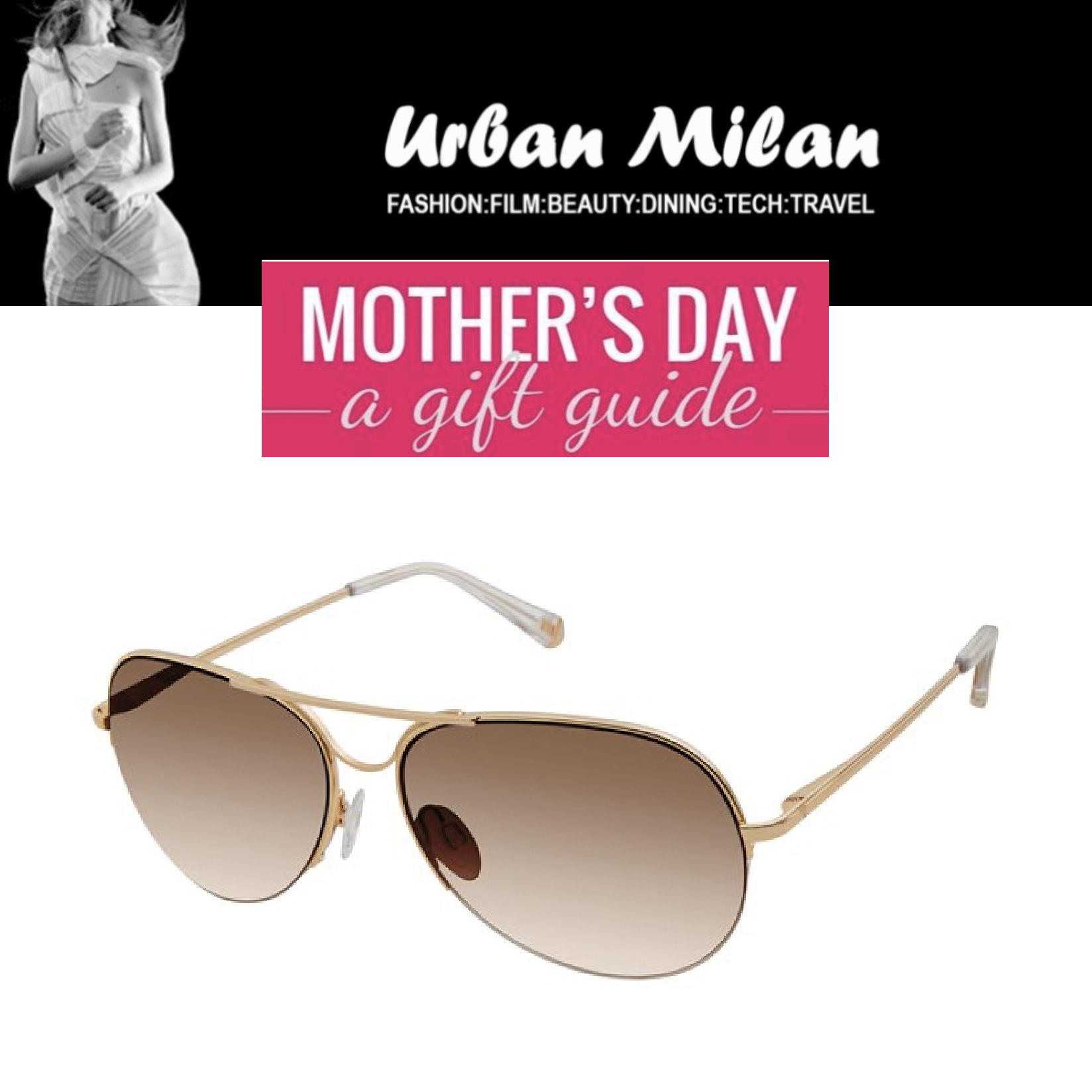 96ba866c4e Kate Young for Tura featured in Urban Milan – Mother s Day Gift Guide