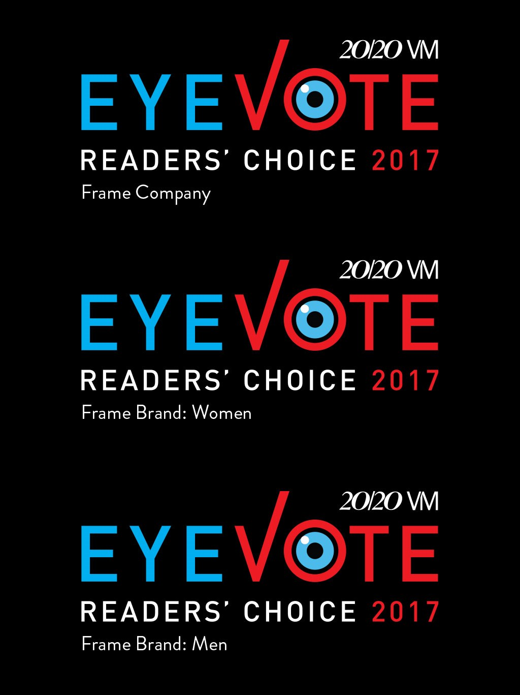 EYEVOTE READERS CHOICE AWARDS 2017