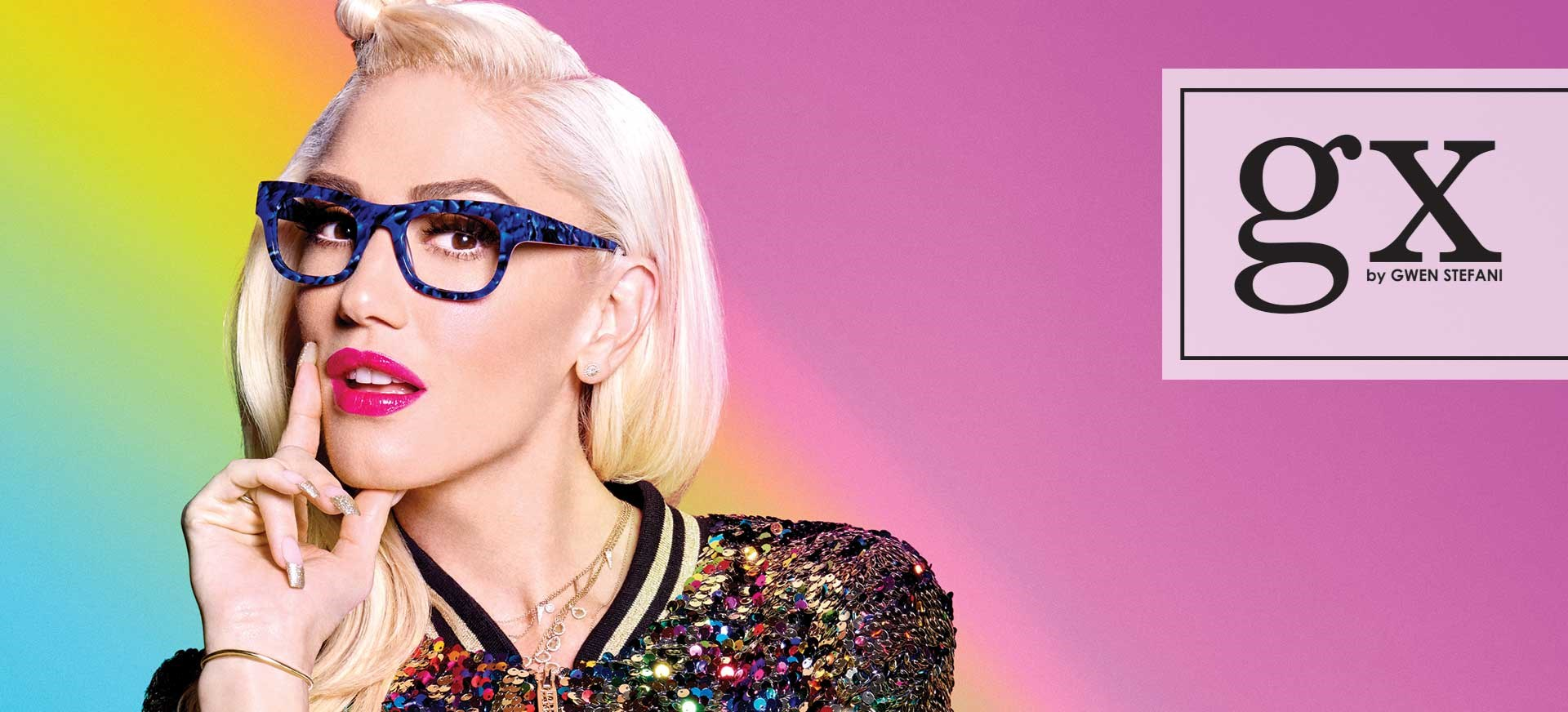 gx by Gwen Stefani Womens Optical Eyewear