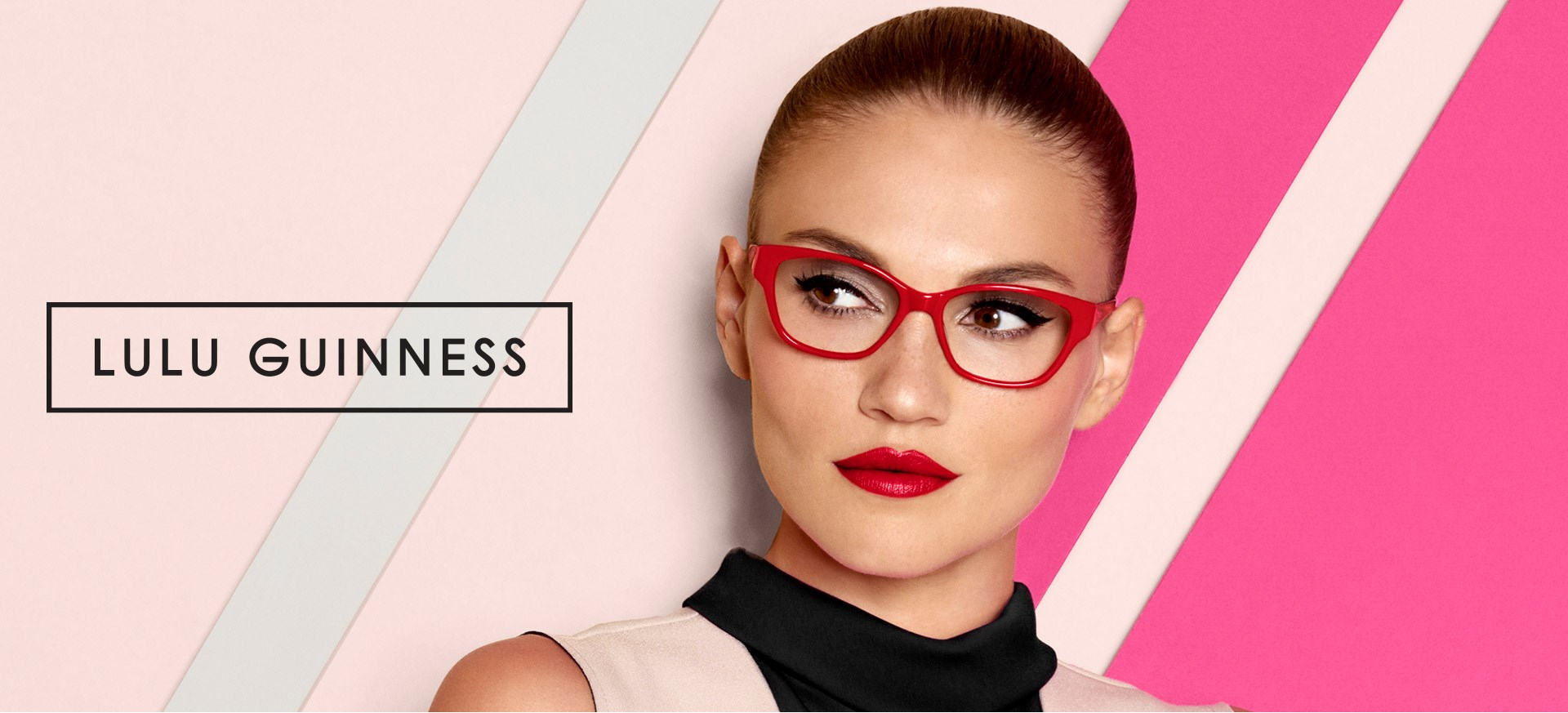 Lulu Guinness Women's Optical Frame