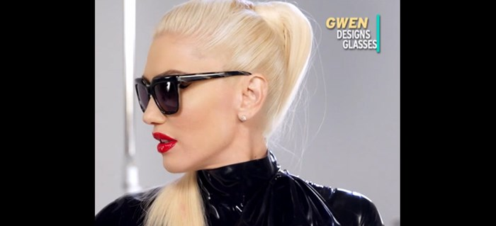 GWEN STEFANI'S EYEWEAR COLLECTION ON ENTERTAINMENT TONIGHT