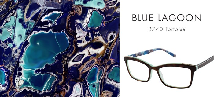 TED BAKER CUSTOM PRINTS BLUE LAGOON
